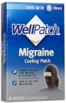 WellPatch Migraine Cooling Headache Pads-4ct