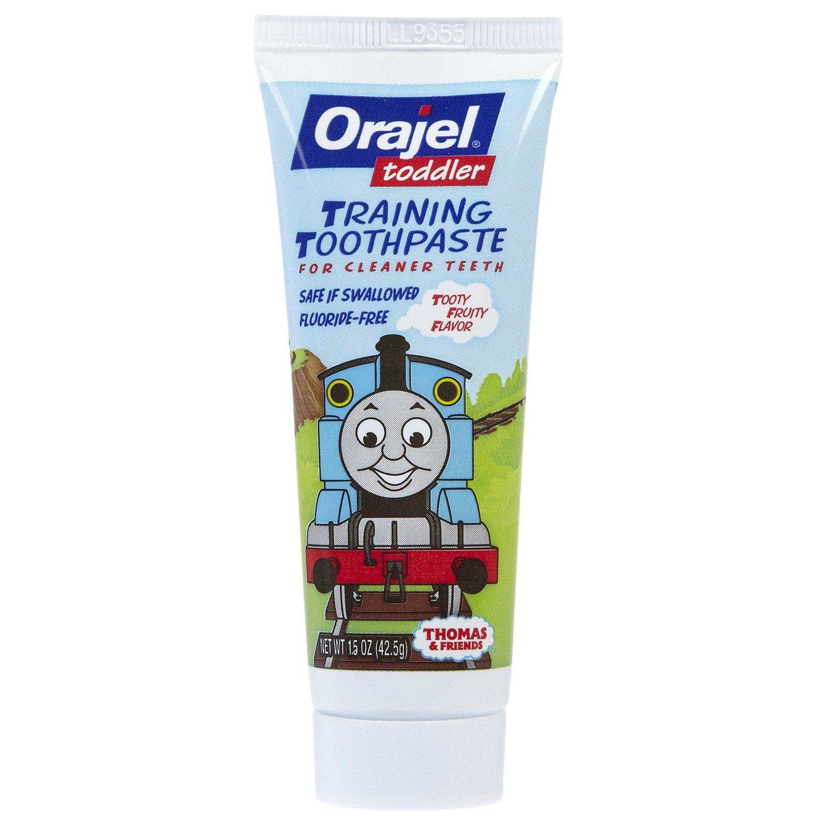 Orajel Training Thomas Toothpaste