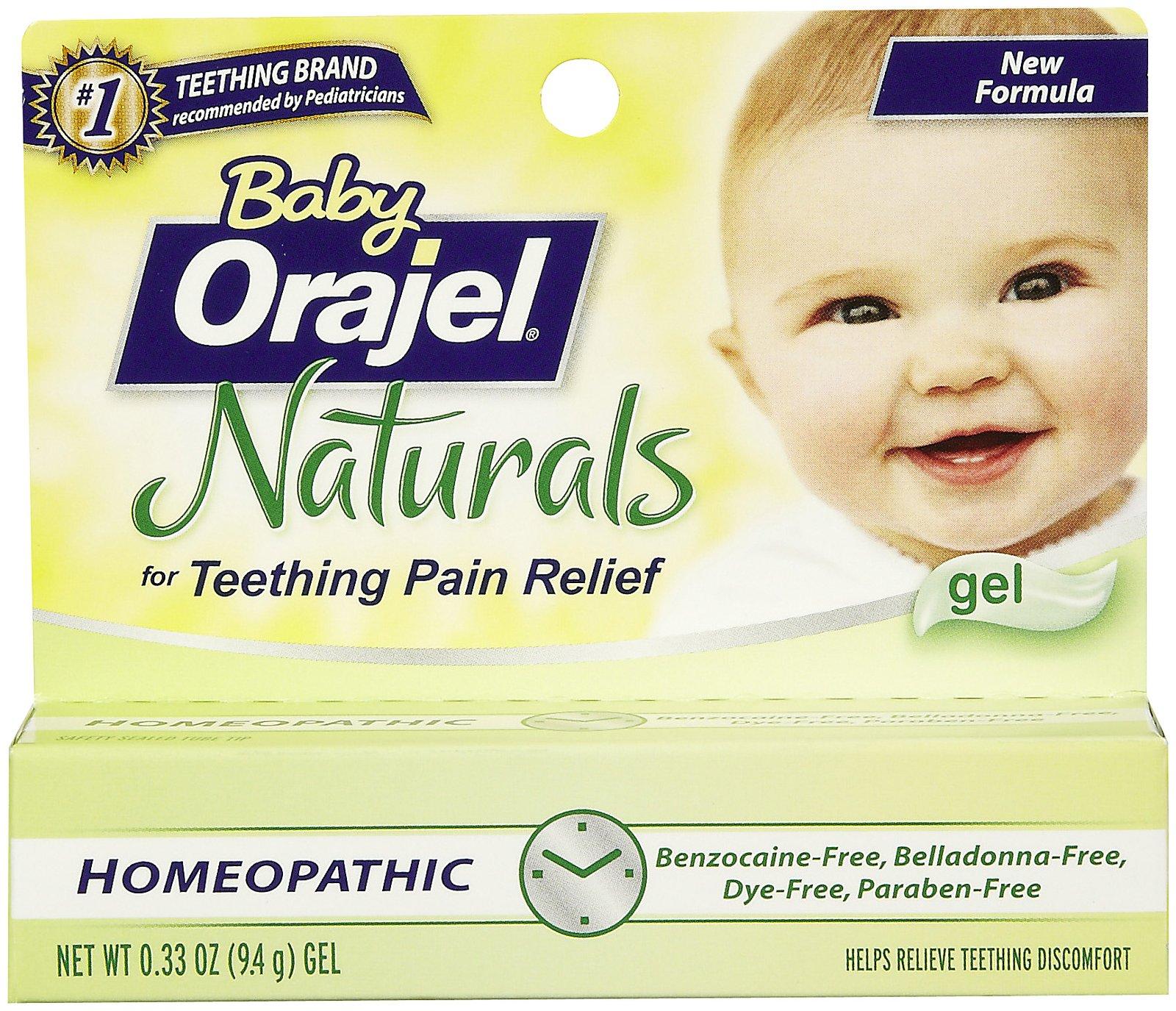 Baby Orajel Naturals Teething Pain Medicine Gel Tagsale Co