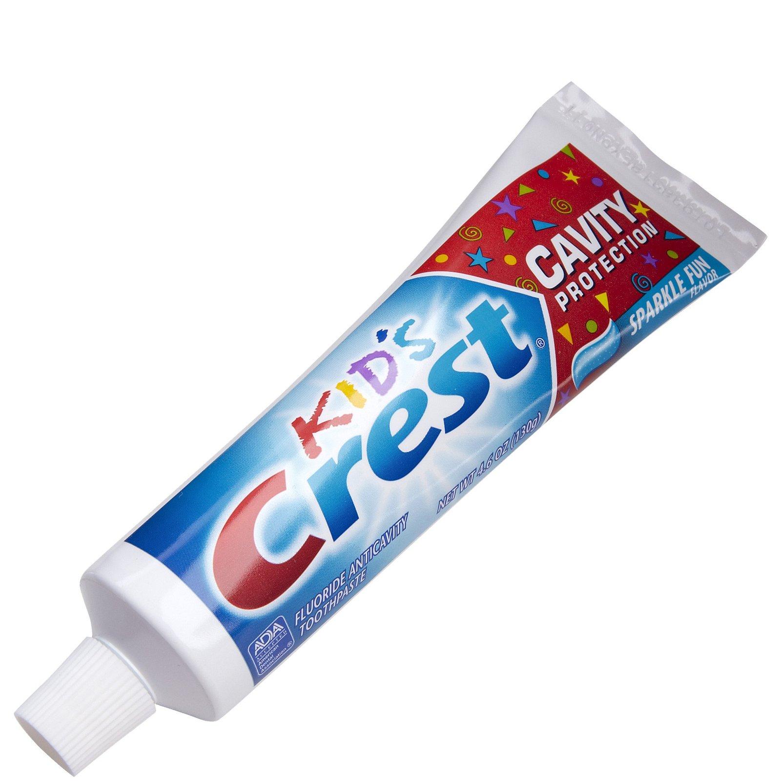Kids Tooth Paste Crest Kids Spar...