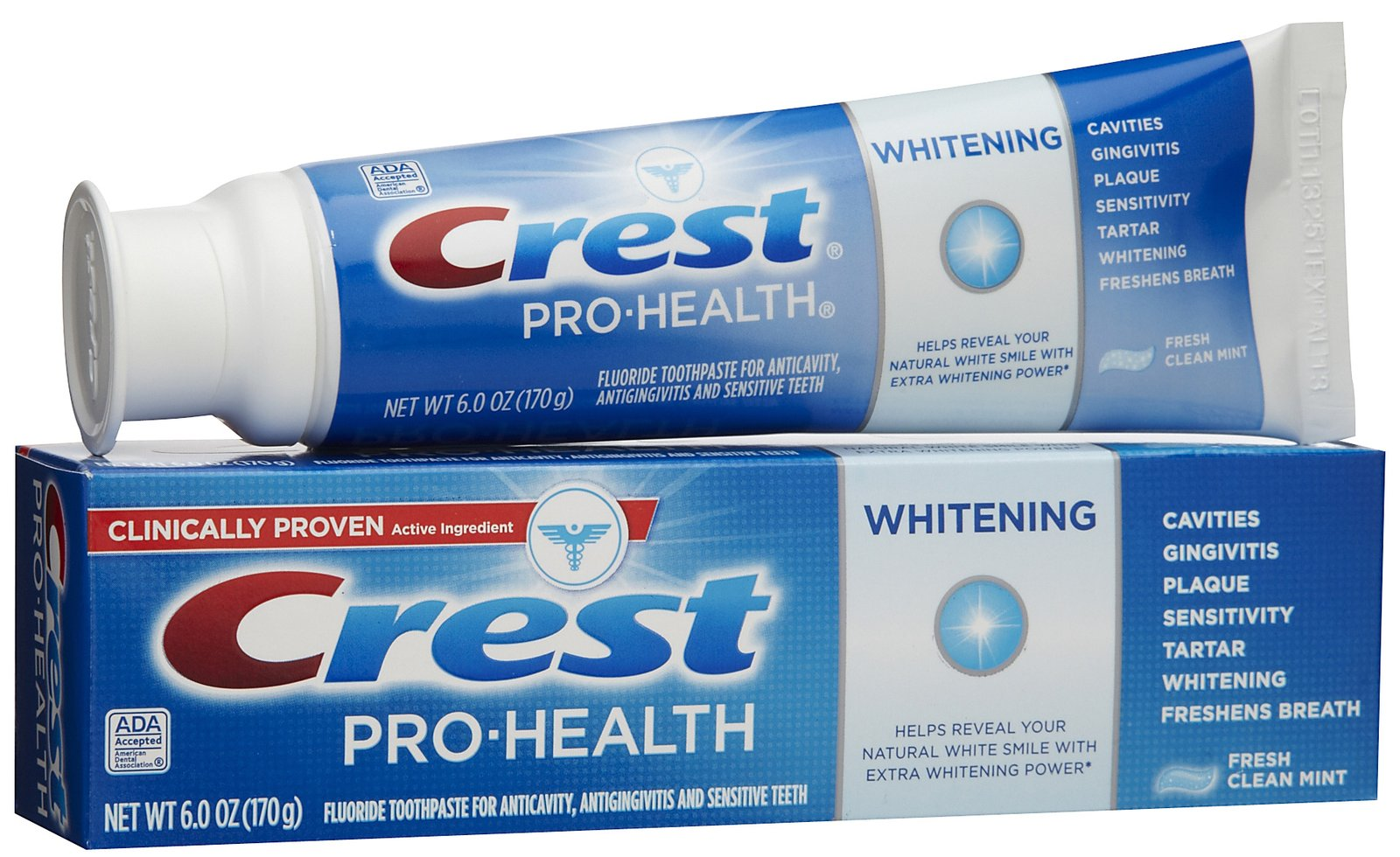 Crest Pro Health Whitening Toothpaste 6 Oz Tagsale Co